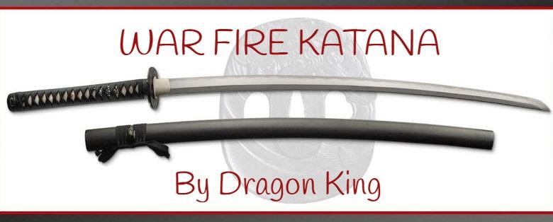 War fire katana